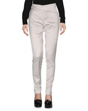 Повседневные брюки X'S MILANO. Цвет: светло-серый