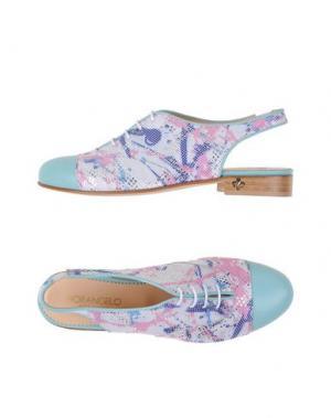 Обувь на шнурках FIORANGELO. Цвет: белый