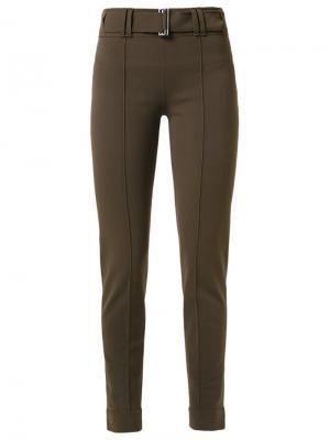 Slim fit trousers Gloria Coelho. Цвет: коричневый