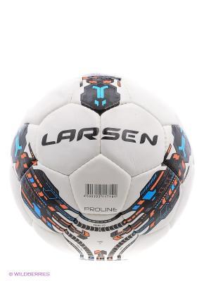 Мяч футбольный Proline 13 Larsen. Цвет: черный, белый