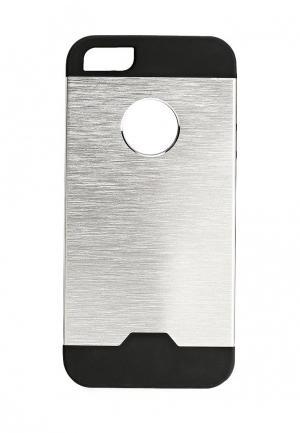 Чехол для iPhone Oba. Цвет: серебряный