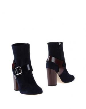 Полусапоги и высокие ботинки CHRISSIE MORRIS. Цвет: темно-синий
