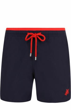 Плавки-шорты с карманами Vilebrequin. Цвет: темно-синий