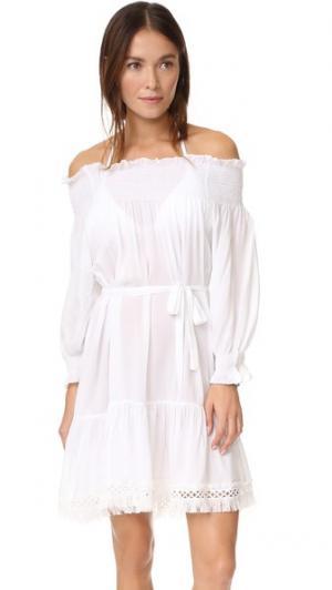 Платье J Love Thayer. Цвет: белый