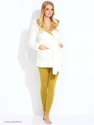 Жакет CATHERINE'S. Цвет: белый, горчичный
