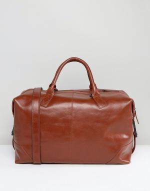 Royal RepubliQ Кожаная сумка Supreme. Цвет: рыжий