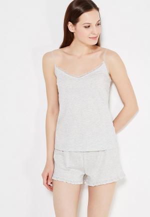 Пижама womensecret women'secret. Цвет: серый