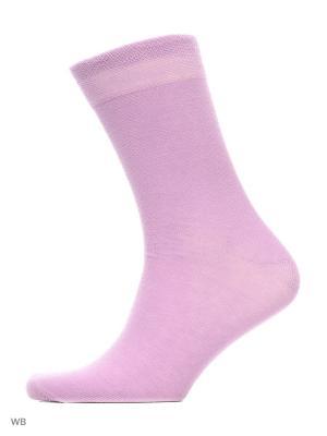 Носки хипстерские (2 пары) HOSIERY. Цвет: сиреневый