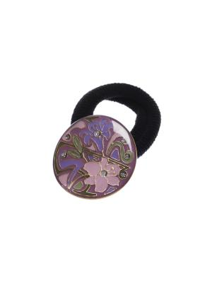 Резинка Clara Bijoux. Цвет: зеленый, розовый, фиолетовый