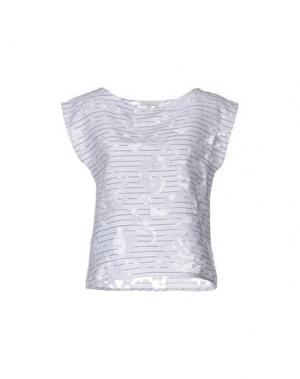 Блузка INTROPIA. Цвет: белый