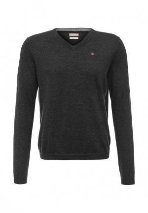 Пуловер Napapijri. Цвет: серый