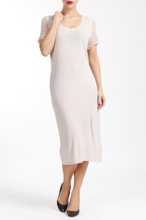 Платье LE DONNE DI M.B.. Цвет: nude