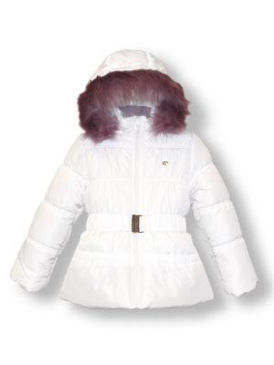 Куртка Артус. Цвет: белый