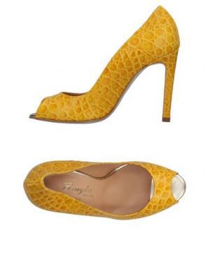 Туфли F.LLI BRUGLIA. Цвет: желтый