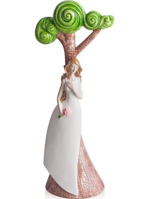 Фигурка Девушка С Букетом Aztek. Цвет: светло-зеленый, белый