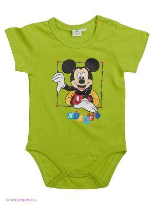 Боди Mickey Mouse. Цвет: оливковый, бронзовый