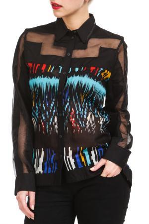 Блуза Didier Parakian. Цвет: мультицвет