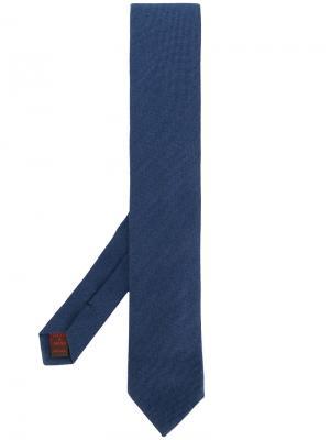 Классический галстук Fashion Clinic Timeless. Цвет: синий