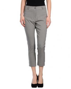 Повседневные брюки CLUB VOLTAIRE. Цвет: серый