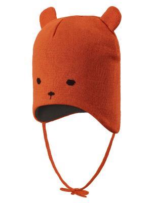 Шапка Reima. Цвет: оранжевый
