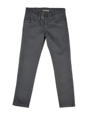 Повседневные брюки MIMISOL. Цвет: свинцово-серый