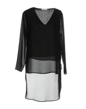 Блузка DANIELA FARGION. Цвет: черный