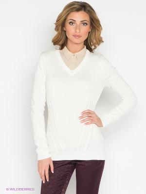 Пуловер Neohit. Цвет: белый