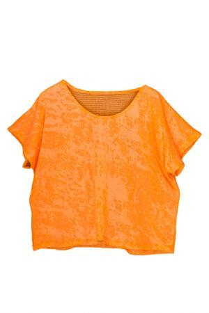 Футболка Orby. Цвет: оранжевый неон (big)