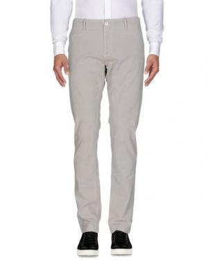 Повседневные брюки ORIGINAL VINTAGE STYLE. Цвет: светло-серый