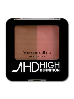 Румяна HIGH DEFINITION, тон 05 Victoria Shu. Цвет: черный