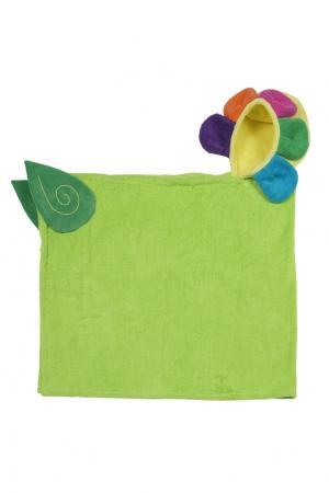 Детское полотенце с капюшоном Zoocchini. Цвет: multicolor