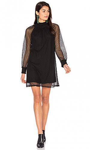 Платье-футляр nikkita Ella Moss. Цвет: черный