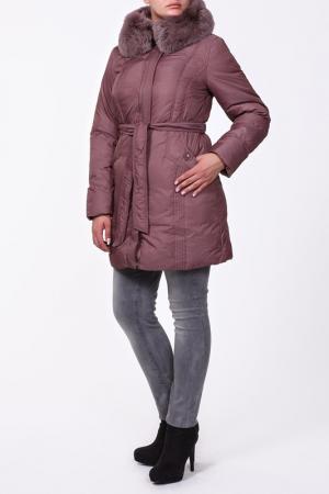 Пальто Mirage-mv. Цвет: фиолетовый