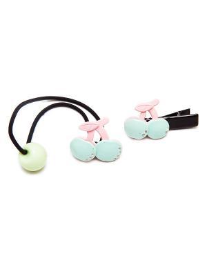 Резинка Kameo-bis. Цвет: бирюзовый, розовый, черный