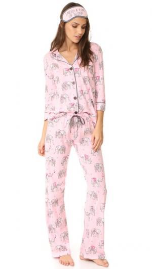 Игривая пижама PJ Salvage. Цвет: розовый