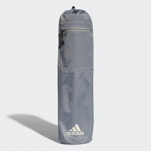 Сумка для коврика йоги YOGA MAT BAG GREY  Perfomance adidas. Цвет: серый