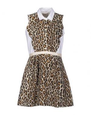 Короткое платье SEA. Цвет: светло-серый