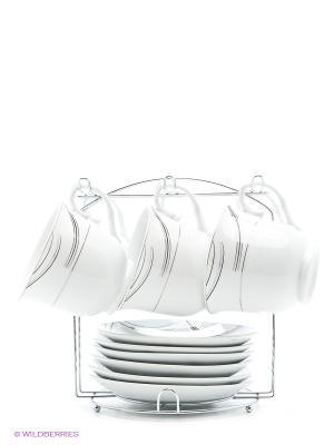 Чайный набор Bekker. Цвет: белый