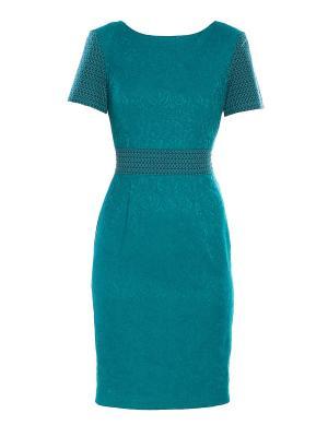 Платье Sarafan. Цвет: морская волна
