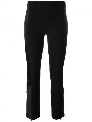 Укороченные слегка расклешенные брюки Givenchy. Цвет: чёрный