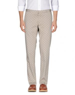 Повседневные брюки DOMENICO TAGLIENTE. Цвет: бежевый