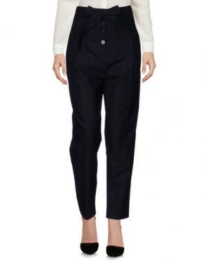 Повседневные брюки TEIJA. Цвет: темно-синий