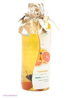 Масло жидкое для тела Грейпфрут, 350 мл АРОМАДЖАЗ. Цвет: оранжевый