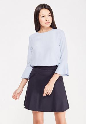 Блуза Tommy Hilfiger. Цвет: голубой