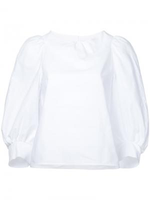 Balloon sleeves blouse Atlantique Ascoli. Цвет: белый