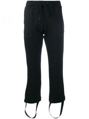 Спортивные брюки с полосками сбоку Y-3. Цвет: чёрный