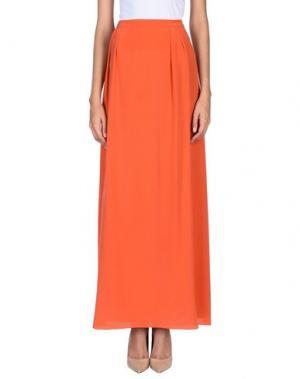 Длинная юбка NATAN. Цвет: коралловый