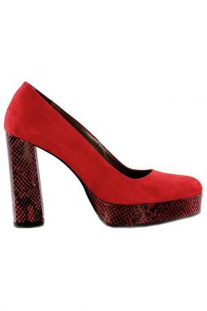 Туфли NILA. Цвет: красный