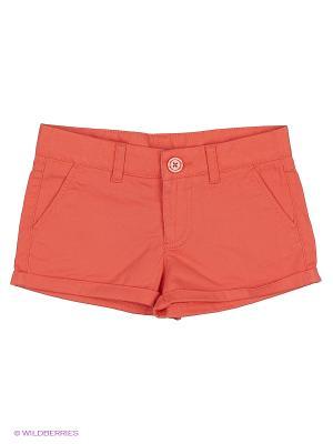 Шорты United Colors of Benetton. Цвет: красный, оранжевый, бронзовый