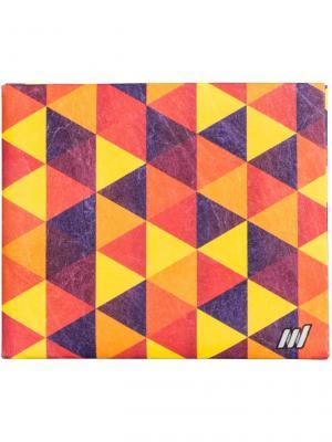 New Trangle wallet. Цвет: оранжевый